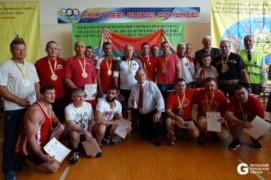 Губернатор Витебской области установил мировой рекорд на чемпионате мира по гиревому триатлону