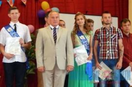 Лучшим выпускникам Высокского профессионального лицея дипломы вручил Николай Шерстнёв