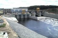 Первую энергию из воды получили на Витебской ГЭС