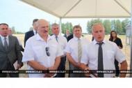 Президент побывал в Миорском районе (03.08.2018)