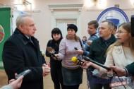 Председатель Витебского облисполкома Николай Шерснёв проголосовал на местных выборах
