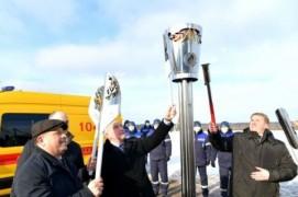 Природный газ подвели к деревне Ског Сенненского района(05.02.2021)